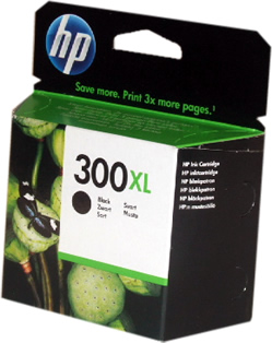 HP 300XL Black Ink Cartridge CC641EE Original