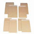 C4 Manilla Envelopes Peel and Seal Gusset 25mm Plain  (Pack of 125)
