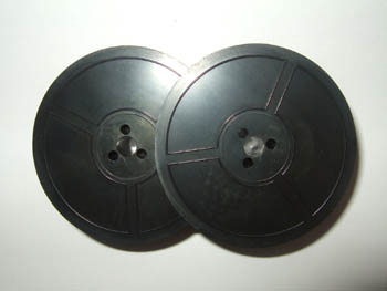 1001FN GR1 Twin Spool Typewriter Ribbon Black Ink Compatible