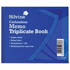 Silvine Memo 707 Triplicate Book Carbonless Ruled 102x127mm (Pack of 5)