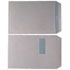 C4 100gsm Envelopes Window Pocket Peel and Seal White (Box of 250)