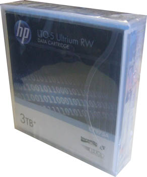 HP LTO5 C7975A Ultrium RW Data Tape Cartridges 1500gb/3tb
