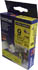 Brother TZe-S621 P-Touch Tape (black on yellow strong adhesive 9mm) Original