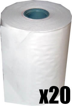 57 x 35 Credit Card Paper Rolls Thermal (Box of 20 Rolls)