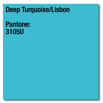 A4 160gsm Deep Turquoise Card 250 sheets (Lisbon) Image Coloraction 3105U