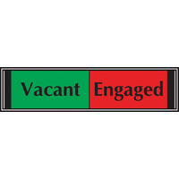 Sliding Sign Vacant/Engaged OF135