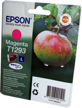 Epson T1293 Magenta Ink Cartridge Apple Original