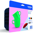 Brother LC227XL LC225XL Value Pack Ink (BK C M Y) (Green Cup/Umbrella) Original