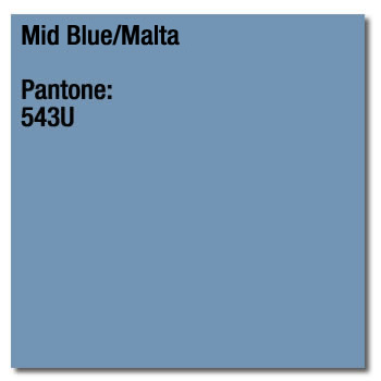 A4 Printing Paper Mid Blue Malta Pack of 500 Coloraction 80gsm 89352