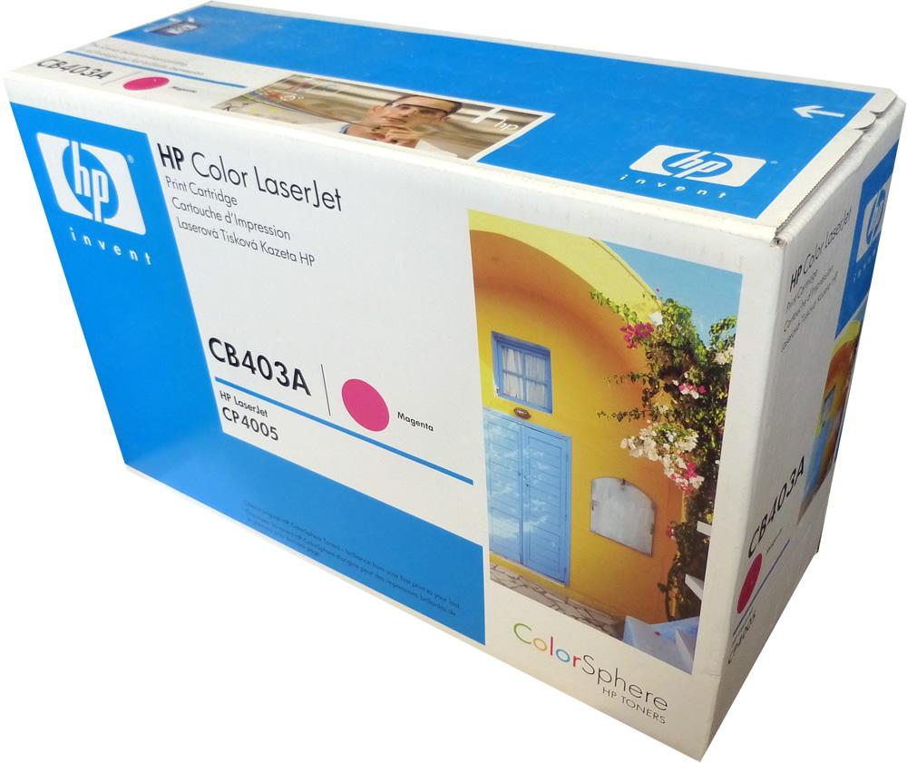 Hp Cb403a Magenta Toner 642a 75k Old Design Box Original Color Laserjet Cp4005 Cyan Cartridge Cb401a