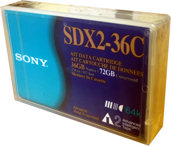 Sony SDX2-36C AIT Data Cartridge