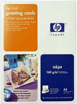 Hp greeting card paper c6042a one only m4hsunfo