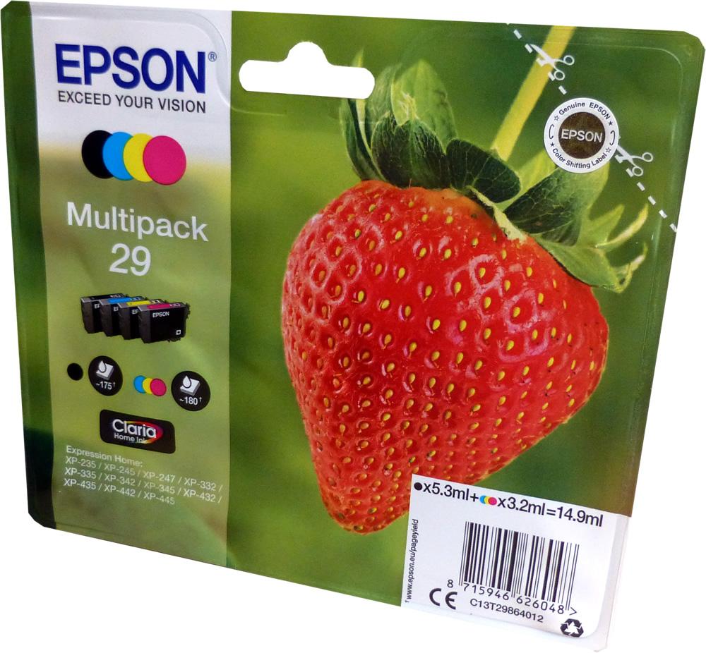 epson 29 t2986 multipack ink cartridges strawberry original. Black Bedroom Furniture Sets. Home Design Ideas