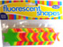 Stars Fluorescent Assorted 42mm (Pack of 100)