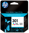 HP 301 Tri-Colour Ink Cartridge CH562EE Original