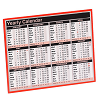 Year to View Calendar 257x210mm KFYC121 2021